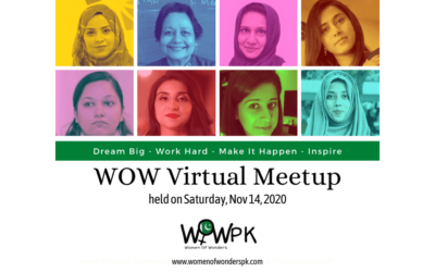 DREAM BIG – WOW Virtual Meetup