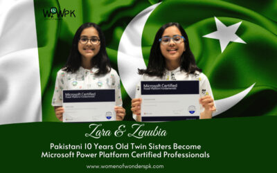 Zara & Zenubia – Microsoft Power Platform Certified Twins